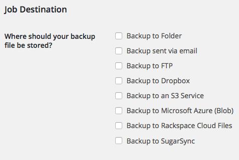 backup plugins wordpress